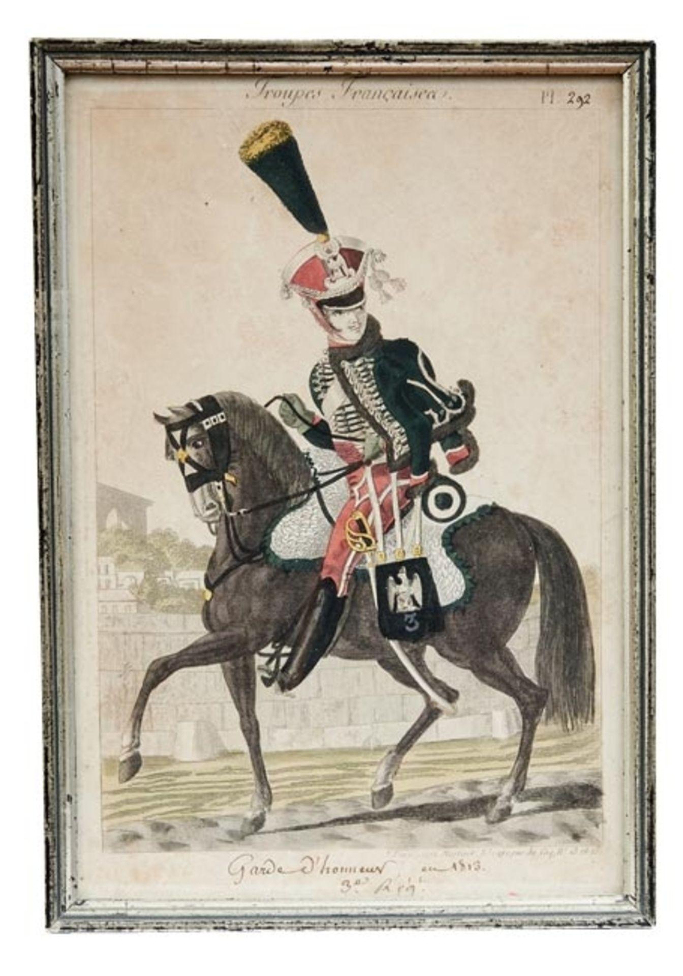 Fünf Uniformen der französischen Armee - Bild 6 aus 6