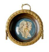 Miniaturportrait der französischen Königsfamilie