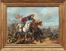 Türkische Reiterschlacht