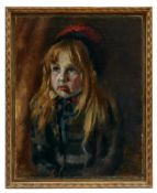Kinderportrait in der Art des Ludwig von Zumbusch