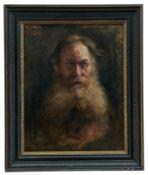 Bildnisstudie von Leo (Lew Nikolajewitsch) Tolstoy