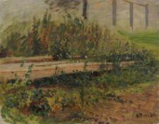 Albert Heinrich Brendel, Waldweg. Wohl um 1890.