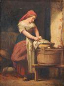 Hutin (?), Waschende Magd. 1756.