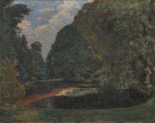"""Theophil Heinke """"Aus dem Pillnitzer Parke"""". 1911."""