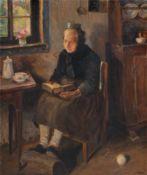 Sophie Doerr, Schwälmer Bäuerin in Andacht. Zwischen 1903– 1935.