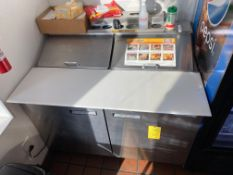 48'' Welbilt Refrigerated Prep Table
