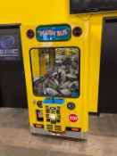 Plush Bus Claw Game, (toys inside are TX & Football Related), Takes Quarters