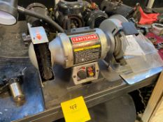 Craftsman 6 inch Variable Speed Grinder, Model #351.211540, S/N #051100396