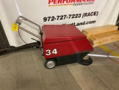 Factory Cat 34 Floor Sweeper, Hours = 670.2, S/N #62634
