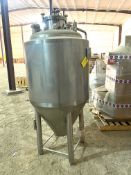 NEW Krones/ Cedarstone Industry Stainless Steel Jacketed Fermentation Tank, 4 BBL, Serial# CS19-48,