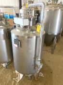 NEW Krones/ Cedarstone Industry Stainless Steel Jacketed Solvent Tank, 2 BBL, 316L SS, Serial#