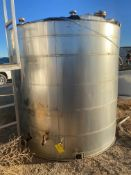 Stainless Steel Jacketed Tank, Rigging/ Loading Fee: $75