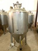 NEW Krones/ Cedarstone Industry Stainless Steel Jacketed Fermentation Tank, 4 BBL, Serial# CS19-52,