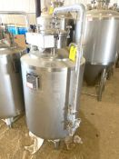 NEW Krones/ Cedarstone Industry Stainless Steel Jacketed Solvent Tank w/ Temperature Probe, 2 BBL,