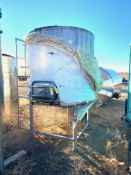 Stainless Steel Tank, Rigging/ Loading Fee: $50
