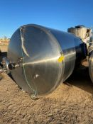 Century Stainless Steel Tank, 2368 Gal, Serial# 1083-09, Rigging/ Loading Fee: $50