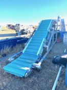 Cleated Z Conveyor, Rigging/ Loading Fee: $25