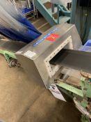 (Located in Burlington WI) Thermo Scientific Apex 100 Metal Detector S/N 11384196A with Conveyor