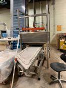 (Located in Burlington WI) Super Sack Unloader and Vibartory Conveyor