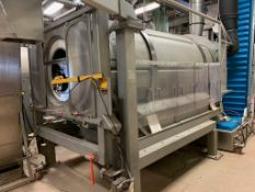 (Located in Burlington WI) Walker Stainless Continuous Polishing Pan S/N NL9690 316 L SS