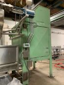 (Located in Burlington WI) Commercial Hydraulic Tote Dump With Hydraulic Pack