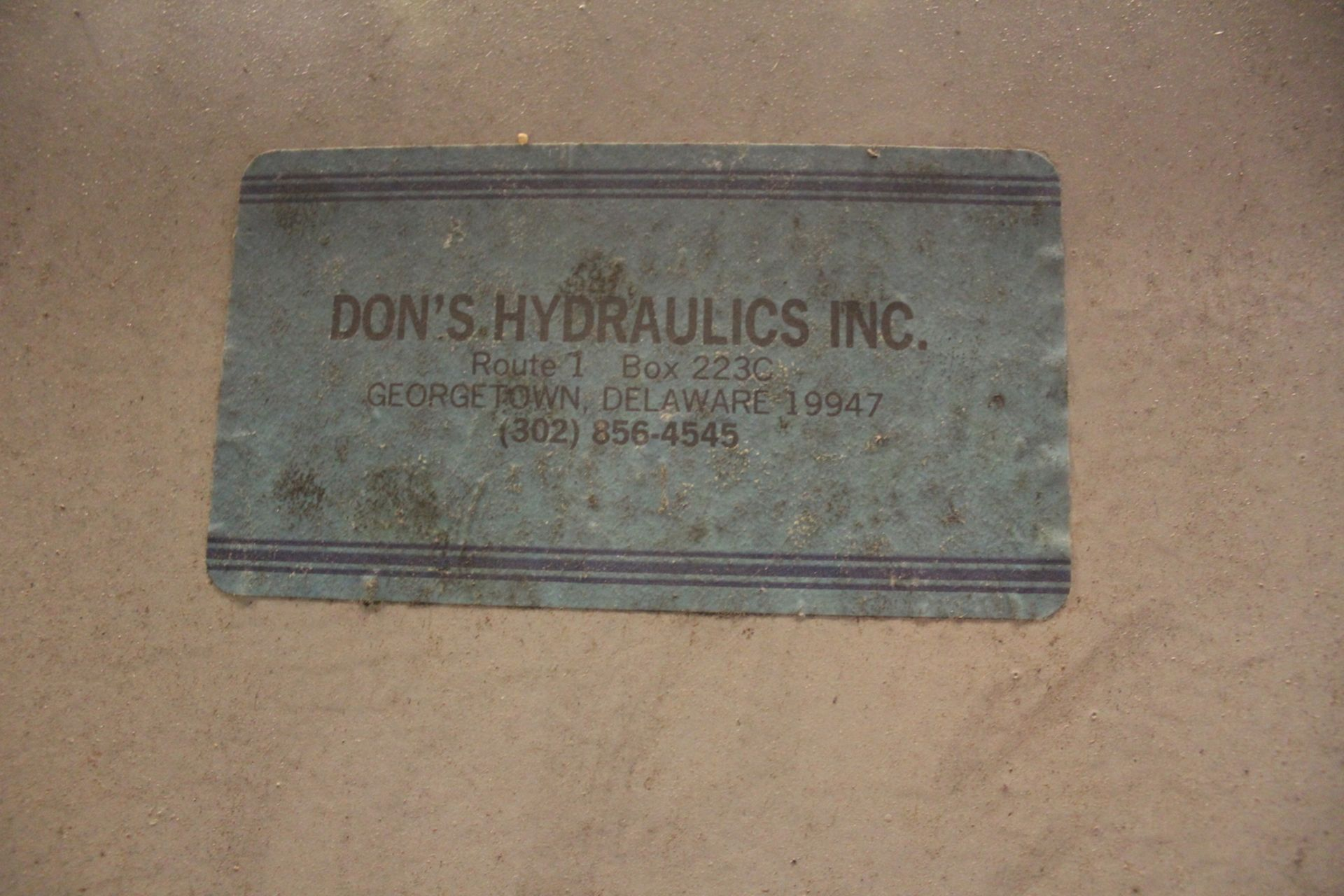 Don's Hydraulics Hydraulic Powerpak, Located in:Cartersville, GA - Image 6 of 8