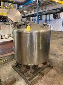 Walker SS Kettle Tank, S/N #612, Capacity = 240 Gallons, Model #HI-MIX Rigging Price $75