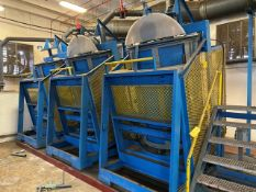 (3) Dumping Mixers (the tilting hinge on these units is currently broken) Rigging Price $4,000