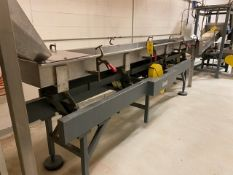 Cardwell Vibratory Conveyor, Model #VC-1659, S/N #873-075
