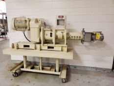 Diamond America TF400 4'' Extruder, S/N #19-028, Date of MFG. 1/15/2020, Weight 1650 lbs