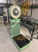 Mettler Toledo Floor Scale, Model #2181, Capacity 200 lbs