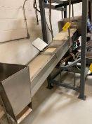 Incline Material Processing Conveyor