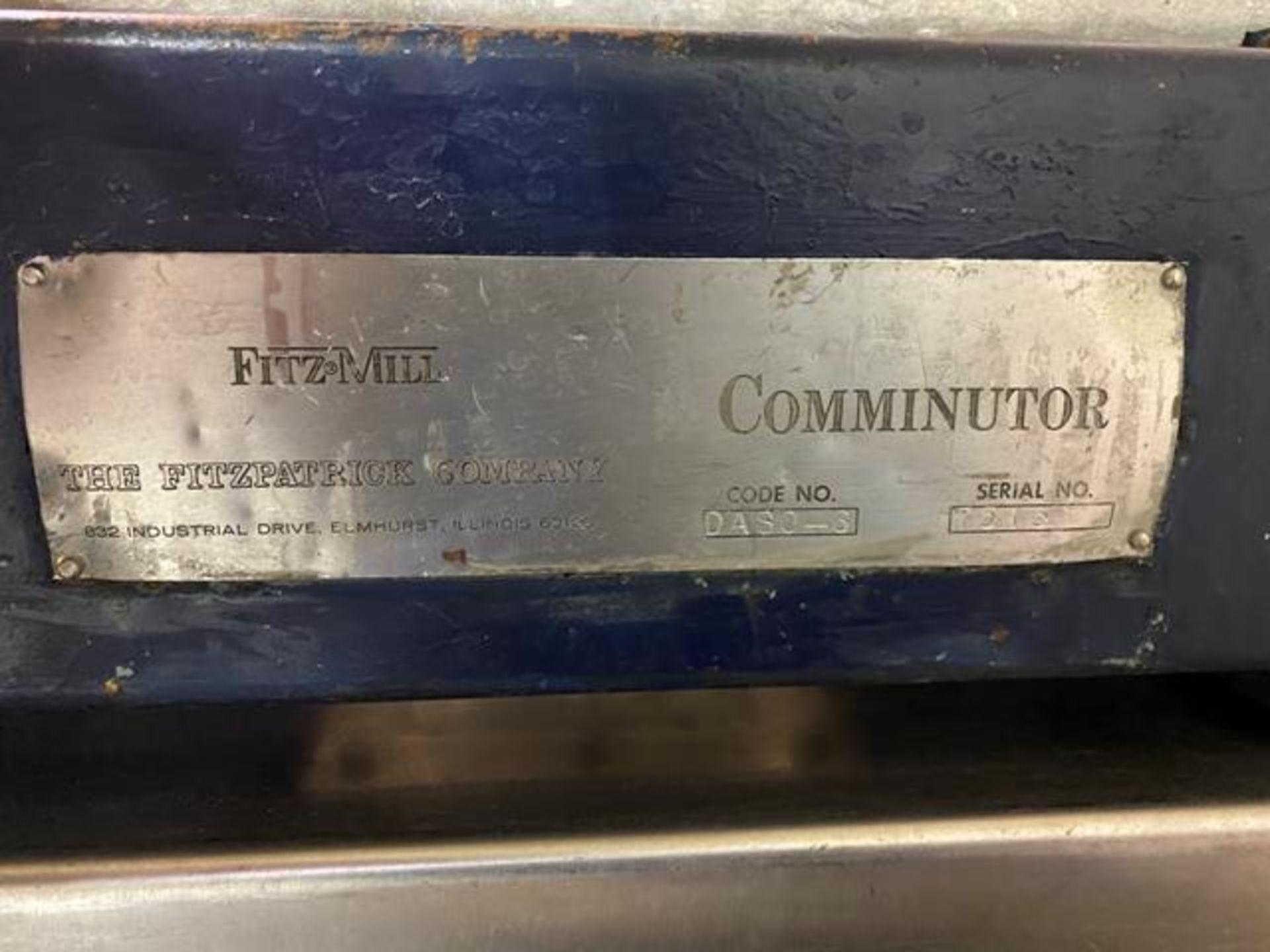 Fitz-Mill Comminutor, Code #DASO-3 - Image 2 of 5