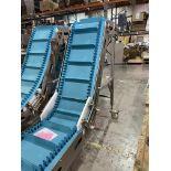 Kofab S Conveyor w Cleated belt S/N 15GM1223-0113 Loading/Rigging Fee $150