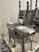 Thermo Ramsey Checkweigher Model AC9000(P)-8120 S/N 0802738 Loading/Rigging Fee $100