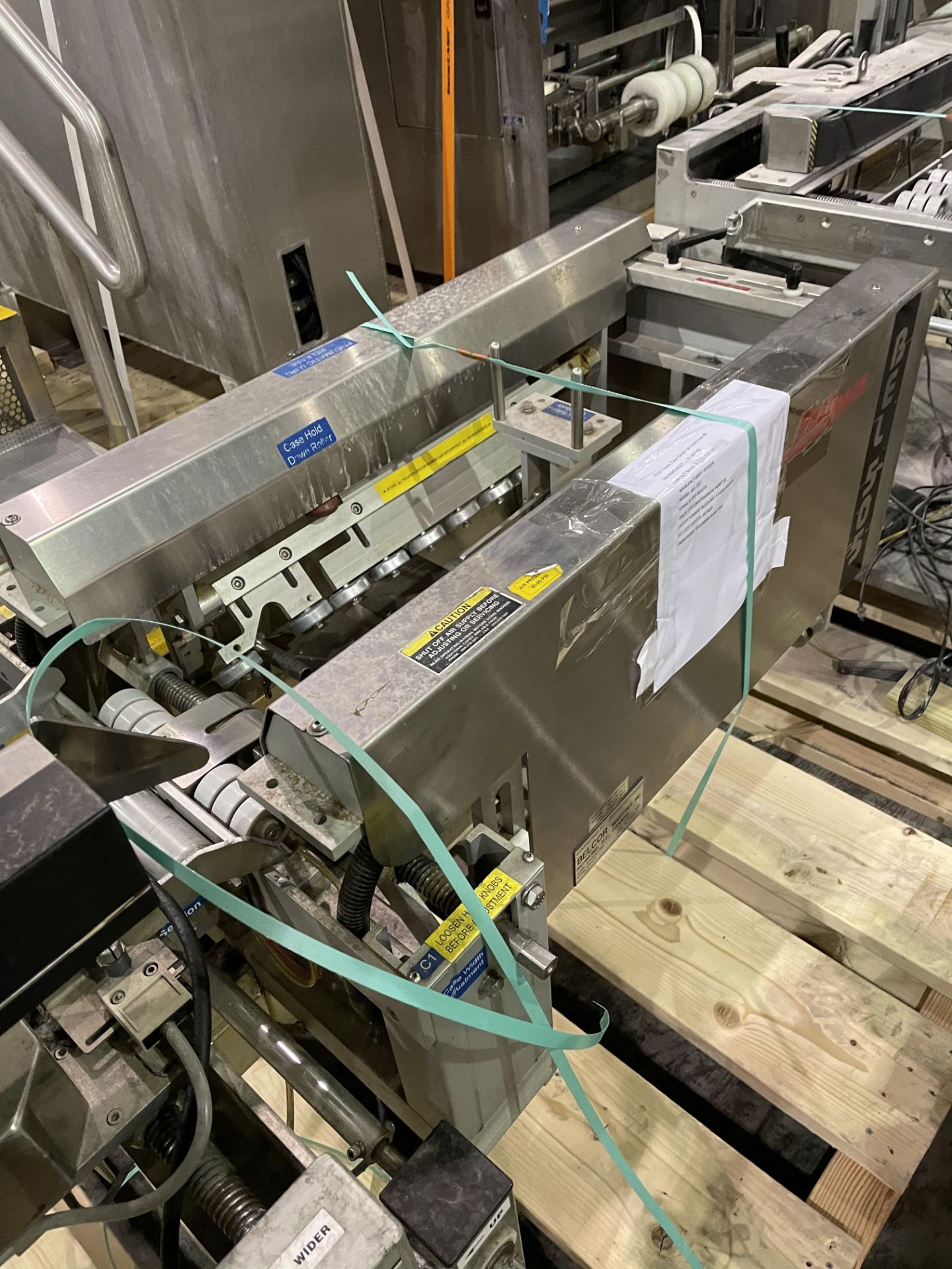 Belcor 252 Taper with Snap Folder Closer Top And Bottom Tape Heads and Marsh Patrion Printer Loading - Image 6 of 8