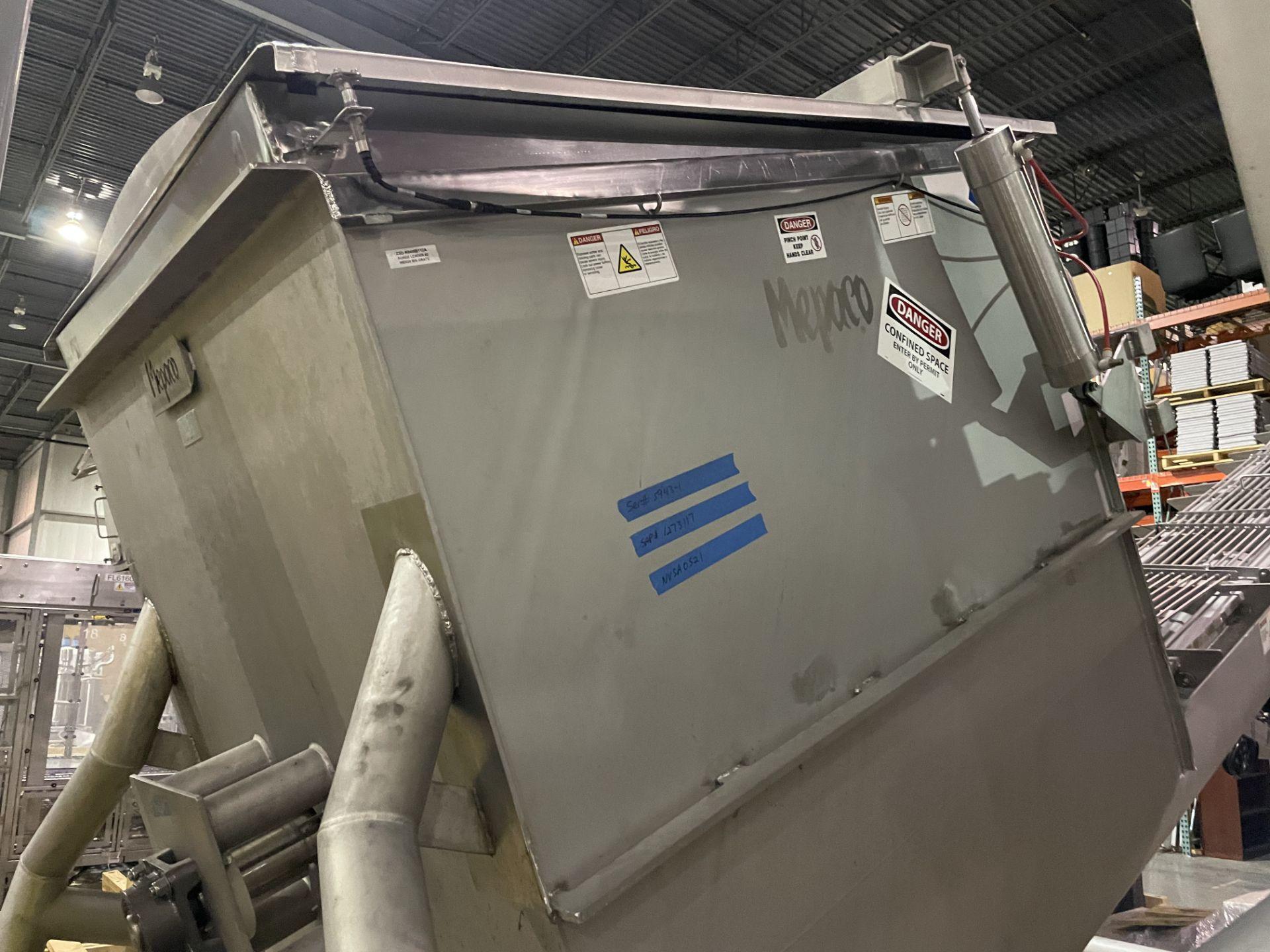 Mepaco Surge Unloader/Dumper Model T4000 S/N M12458-2, 5943-1 Loading/Rigging Fee $750 - Image 2 of 5