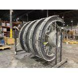 Ambaflex Spiral Conveyor S/N 8345-03 Loading/Rigging Fee $250