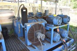 Bruks Hydraulic Power System Includes (4) 15 HP Motors and (4) Hydraulic Cylinders