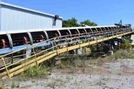 "ASGCO #01-BC-01 Motorized Belt Conveyor, 48"" Wide Belt x Approx.140' Length, ID 01-BC-02"