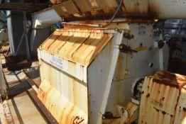 Andritz Model #4360/Series Feed & Bio Fuel Hammer Mill, 6/600 HP Motor, SN 132644839-2015, ID 03-