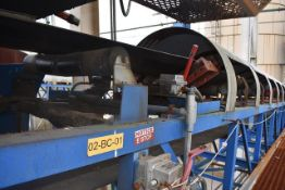 "Imperial Motorized Belt Conveyor, 30"" Wide Belt x 120' Length, ID 02-BC-01"