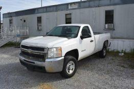 2010 GM 2500 HP Model C20903 Pickup Truck - White, Vin #1GC3CVBG7AF133462, Miles 48,756 Indicated