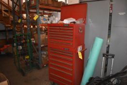 Proto Tool Box Mounted on 4 Casters