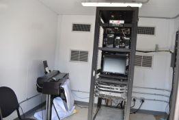 Computer Room Equipment, Stand, HP #CQ893 Printer