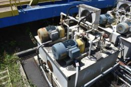 Thermal Transfer Products Hydraulic Power Unit, Includes (2) 75 HP Motors & Pump, ID #01-HYD-02A and