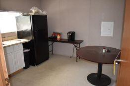 Kitchen Area - Frigidaire Refrigerator, Round Table