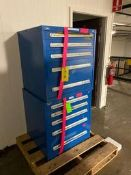 (2) Blue Vidmar Tool Boxes Rigging Price: $100
