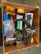 Wood Box of Aro Air Power Tools & Misc. Calibration Units Rigging Price: $50