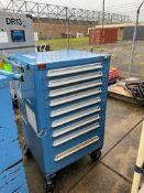 Lyon Blue Tool Cabinet Rigging Price: $50